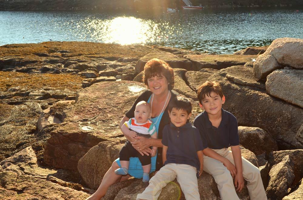 Susan Corbett Grandchildren Beach