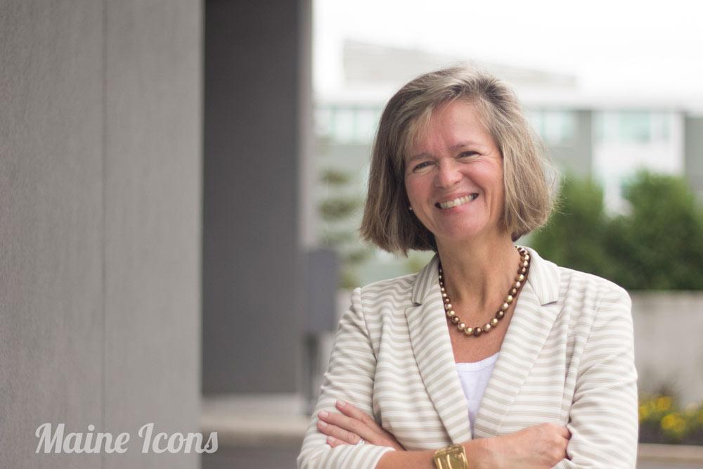 Portrait of Patricia Weigel Outside