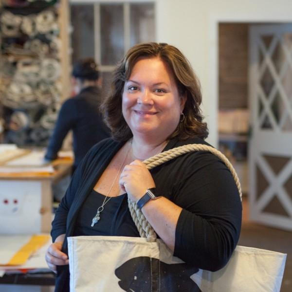 Portrait Beth Shissler of Sea Bags